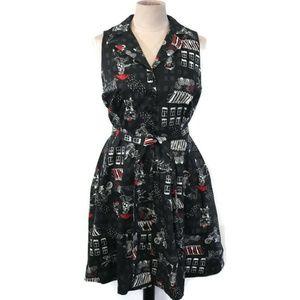 NWT. Modcloth Community Brunch A-line Dress